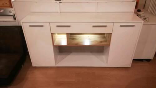 Sideboard Guardo Mit Beleuchtung Weiß Neu Ausstellungsstück